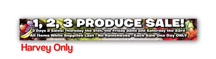 produce sale